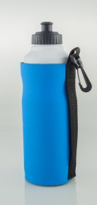 Straight 750ml water bottle cooler.